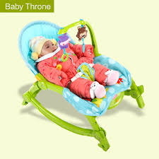 Baby Throne Chair Newborn To Toddler Portable Electrical Rocker Multifunctional Baby