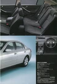 nissan skyline 2001 2001 nissan skyline 250gt sedan japanese sales brochure
