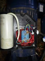 motor run capacitor theory wiring diagram components