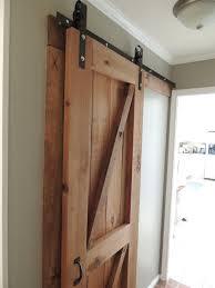 Building An Exterior Door Frame How To Build A Barn Door Frame An Exterior Sliding Large Plans