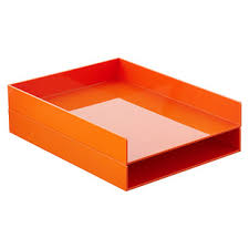 desk tray the container store