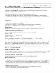 exle of a great resume resume