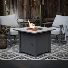 Gas Firepit Table Ember Aiden Gas Pit Table Walmart