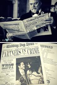 newspaper wedding programs brunch weddings delicious economical way to celebrate your