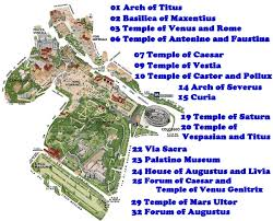Blank Map Of Ancient Rome by Roman Forum
