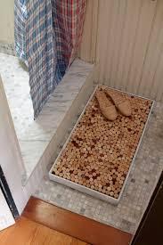 bathroom mat ideas simple diy bathroom mat using wine corks get crafty pinterest