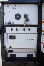 hydraulic light tower with diesel engine generator 4x1250 watt