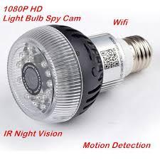 motion detector light with wifi camera 1080p light bulb hidden ip camera hd wifi video recorder motion