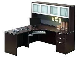 solid wood corner computer desk with hutch solid wood desk with hutch solid cherry corner desk walker edison