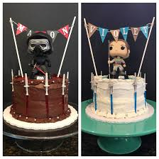 simple star wars cakes part ii kylo ren rey star wars