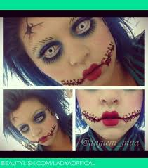 Scary Dolls Costumes Halloween 20 Scary Doll Makeup Ideas U2014no Signup Required
