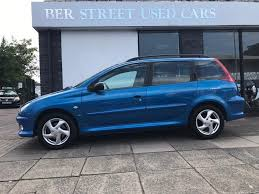 peugeot used dealers used 2004 peugeot 206 sw 2 0 hdi xsi 5dr a c for sale in norfolk
