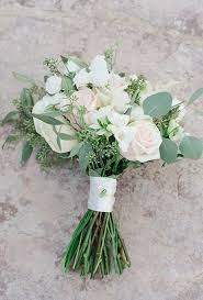 wedding flowers eucalyptus herb wedding bouquets ideas brides