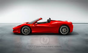 458 spider roof 458 spider gts with retractable glass roof rumored