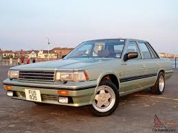 nissan datsun 1980 1988 nissan datsun laurel sgx 2 4 manual green 35 000 miles