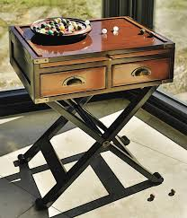 caign style side tables 19th century caign box side table hidden storage table secret