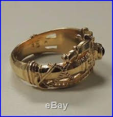 martin luther wedding ring men s 14k yg avery signature martin luther cross band ring