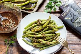 green beans recipe thanksgiving baked green beans with chocolate picada sauce u2022 leelalicious