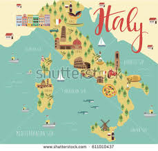 italy map italy map stock images royalty free images vectors