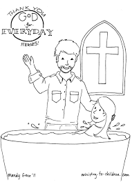 pastor coloring page thanking god for everyday heroes throughout