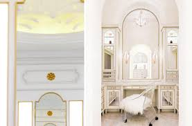 and gold neoclassical bath dudley interiors