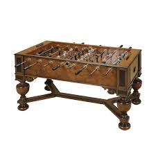 Maitland Smith Coffee Table Napoleon Brown And Antique Aubergine Finished Foosball Table