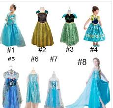 buy cheap cartoon clothing for big save frozen elsa dress costume