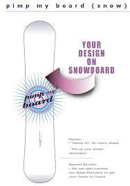 snowboard selber designen neue snowboard designs zum selber machen bei freaks of fashion
