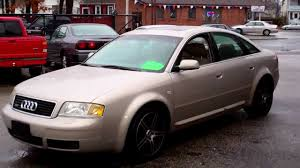 2001 audi a6 review 2001 audi a6 quattro awd sedan 4dr 4 2l v8 at leather moonroof
