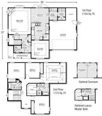 13 2 storey home designs images house modern floor plan for a