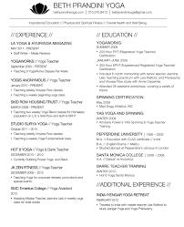 adjunct professor resume example yoga resume resume for your job application prandini 2014