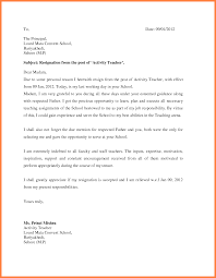 Sample Of Resignation Letters From Jobs 11 Best Resignation Letter For Personal Reasons Bussines