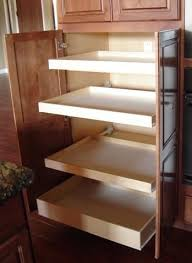 Pull Out Cabinet Shelves by Best 25 Pull Out Shelves Ideas On Pinterest Deep Pantry