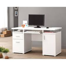 White Office Desk Uk Modern White Desk Healthyfoodrecipes Site