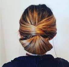 side buns for shoulder length fine hair 60 easy updos for medium length hair