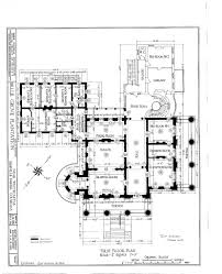 Blueprints For Mansions by Floor Plans Belle Grove Plantation Mansion White Castle Louisiana