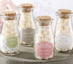 baby shower favors personalized milk jar kate s rustic baby shower collection set