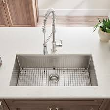 Stainless Kitchen Sinks by Pekoe 35x18 Inch Stainless Steel Kitchen Sink American Standard