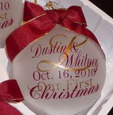 Personalized Ornaments Wedding Our First Home Ornament New House Ornament Realtor Gift Our