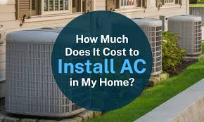 how much does it cost to install a flat pack kitchen how much does it cost to install ac in my home