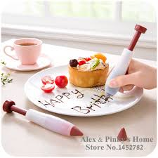 home decorating tools silicone cake decorating tools writing pen jam chocolate cake