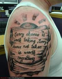 Tattoos Of Sayings And - sayings tatto design of lettering tattoos sayings