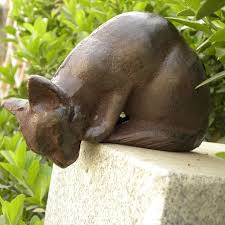Cat Garden Decor 25 Beautiful Outdoor Statues Ideas On Pinterest Green Nature