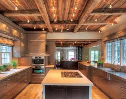 Lighting For Beamed Ceilings These 8 Inspirations Turn Your Kitchen Into A Designer Kitchen