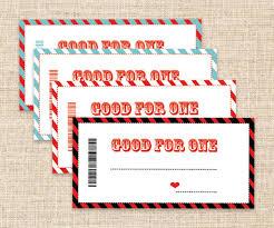 printable coupons father u0027s day gift blank coupons