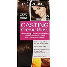 brown haircolor for 50 grey dark brown hair over 50 l oreal casting creme gloss conditioning hair colour 400 dark