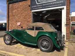1947 mg tc archives bridge classic cars