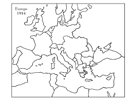 Blank Map Of Europe 1914 by Cacgrade8laandhistory History Blocks G And H