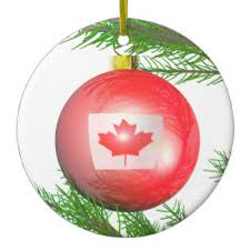 canadian maple leaf tree decorations ornaments