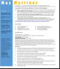 sample retail store manager resume 3 best retail manager resume and cv samples